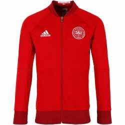 2016-2017 Denmark Adidas Anthem Jacket (Red)