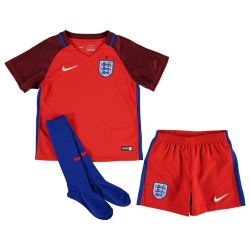 2016-2017 England Away Nike Mini Kit