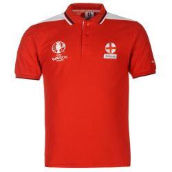 England UEFA Euro 2016 Polo Shirt (Red)