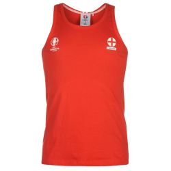 England UEFA Euro 2016 Sleeveless Vest (Red)