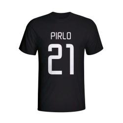 Andrea Pirlo Juventus Hero T-shirt (black) - Kids
