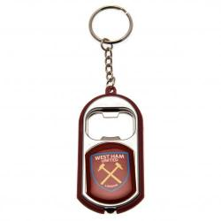 West Ham United F.C. Key Ring Torch Bottle Opener