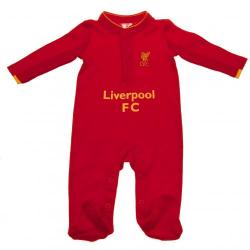Liverpool F.C. Sleepsuit 3/6 mths GD
