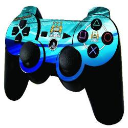 Official Man City PS3 Controller Skin