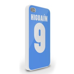 Gonzalo Higuain Iphone 5 Cover (sky Blue)