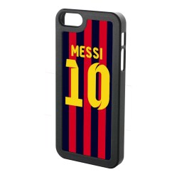 Lionel Messi Iphone 5 Cover (red-blue-yellow)