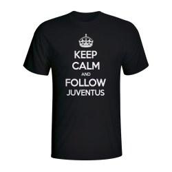 Keep Calm And Follow Juventus T-shirt (black)