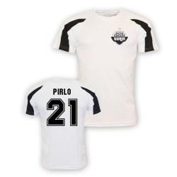 Andrea Pirlo Juventus Sports Training Jersey (white)