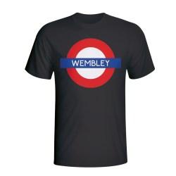 Wembley London Tube T-shirt (black) - Kids