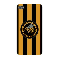 Middlefield Wasps Badge iPhone 6 Cover (Black)