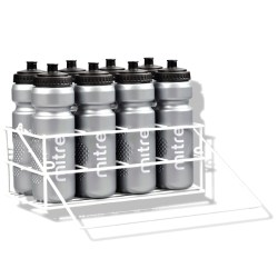 Mitre Metal Crate And 8x80cl Water Bottles