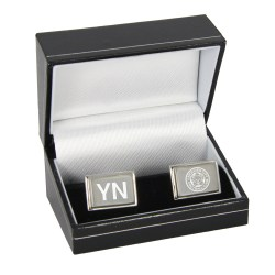 Personalised Leicester City Initials Cufflinks