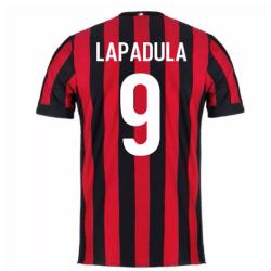2017-2018 AC Milan Home Shirt (Lapadula 9) - Kids