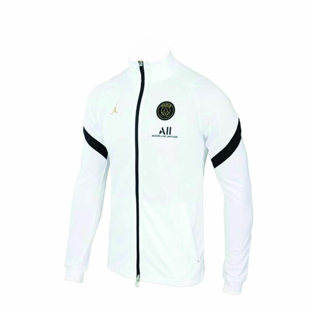 2020 2021 psg strike track jacket white