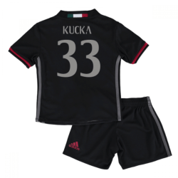 2016-17 Ac Milan Home Mini Kit (Kucka 33)