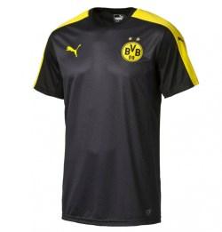 2016-2017 Borussia Dortmund Puma Stadium Jersey (Black)