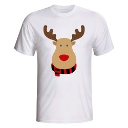 Ac Milan Rudolph Supporters T-shirt (white) - Kids