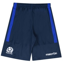 2016-2017 Scotland Macron Rugby Bermuda Shorts (Navy)