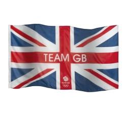 Team Gb Script Large Flag