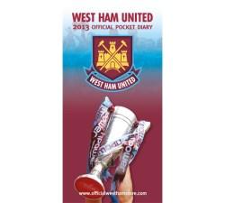 West Ham Slim Pocket Diary 2013 ?????????