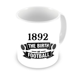 Newcastle Birth Of Football Mug