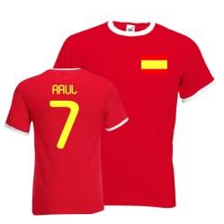 Raul Spain Ringer Tee (red)