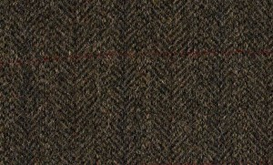Dark Moss Estate Tweed