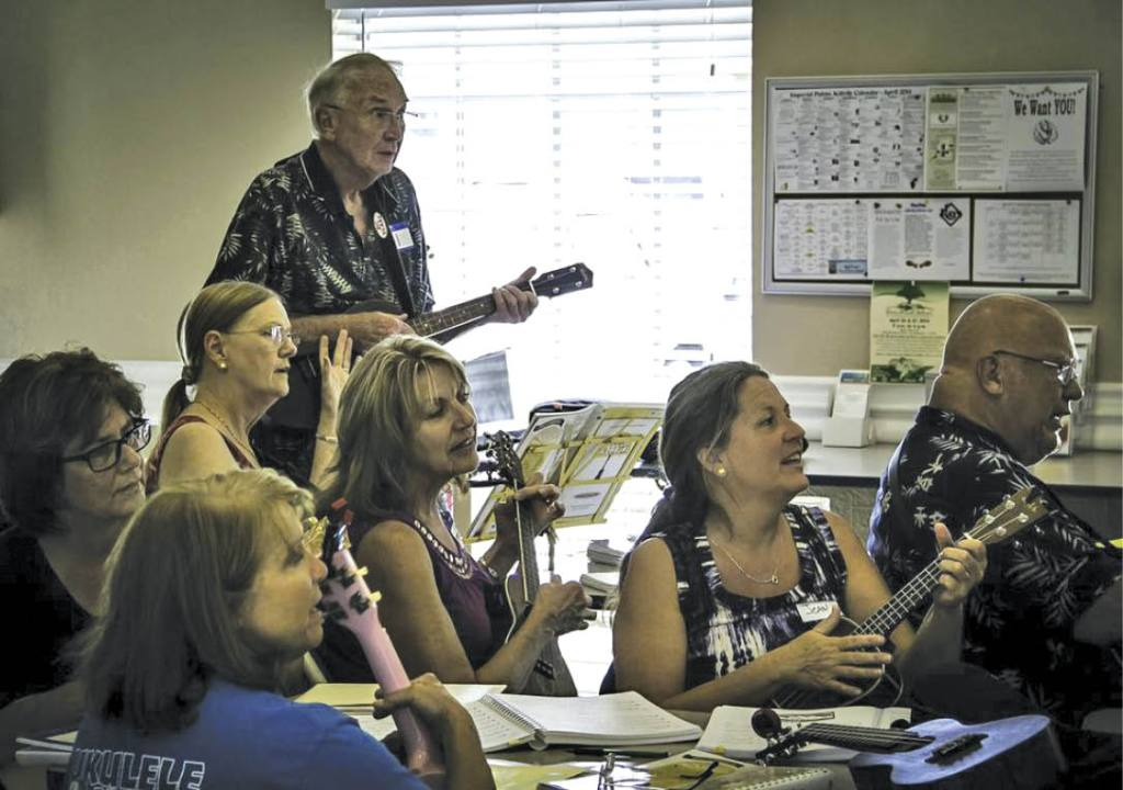 Tampa Bay Ukulele Society Members