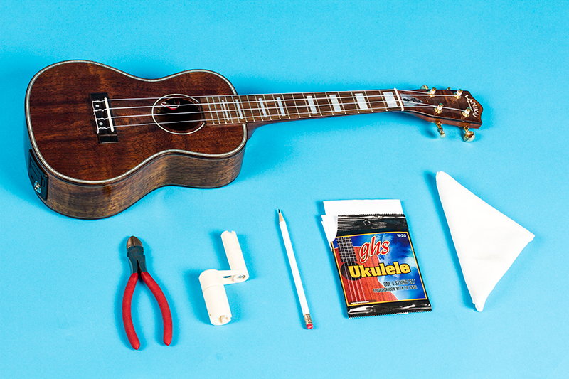 Gear Guru: Change Your Uke Strings: 7 Easy Steps – Ukulele