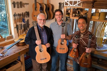 Daniel Ho Pepe Romero Pepe Romer Jr Tenor Ukulele Luthier Classical Ukulele Nylon Guitar