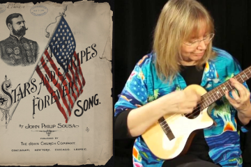 Stars and Stripes Forever Ukulele Marcy Marxer