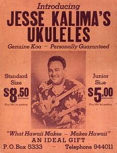 JesseKalimaUkuleleStoreFlyer