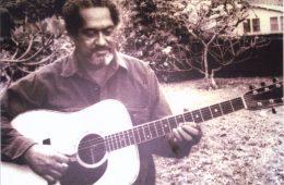 Slack key guitar master Gabby Pahinui