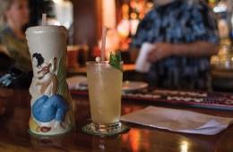 Ukulele Cocktails Tiki Trader Vics Hawaii Uke Santa Cruz