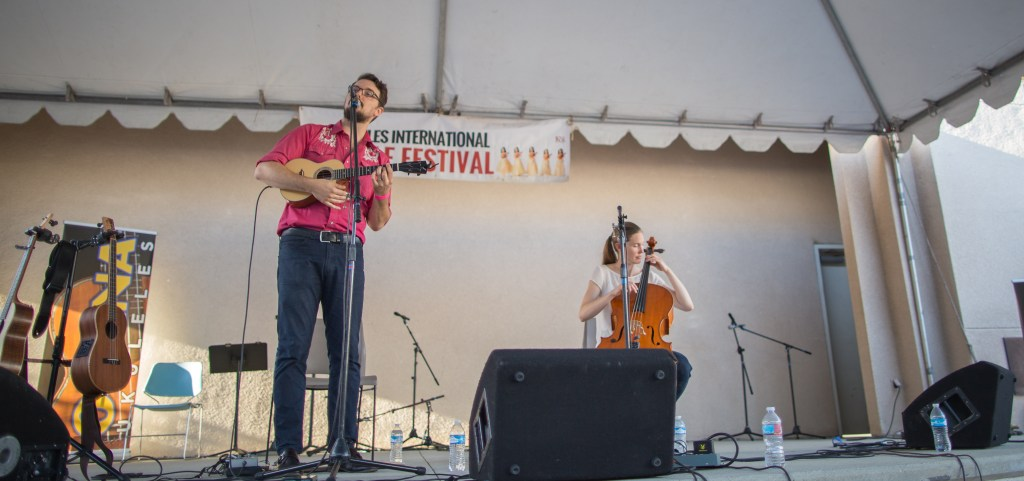 The festival topped off with James Hill and Anne Janelle's performance on the main stage.