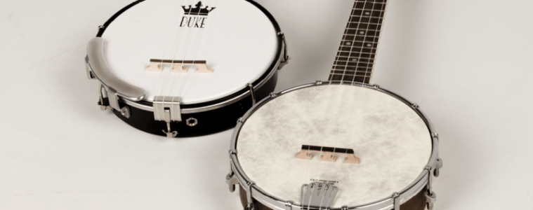 Duke Uke Gold Tone Banjo Ukes