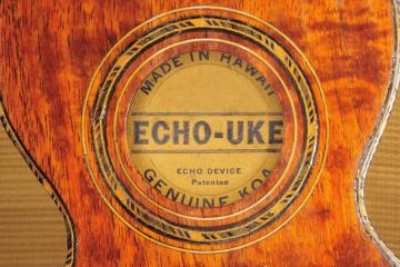 Echo Uke Vintage Ukulele
