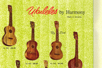 vintage uke catalog 1