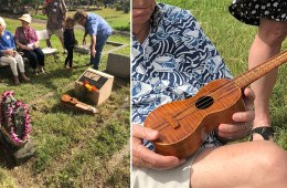 New Grave Marker for the Earliest Known Ukulele Builder1