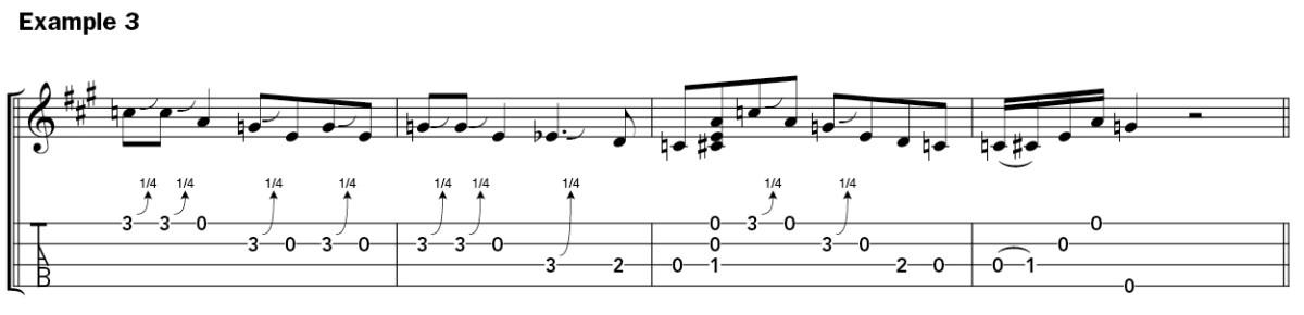 How to Solo on Ukulele example 1-2