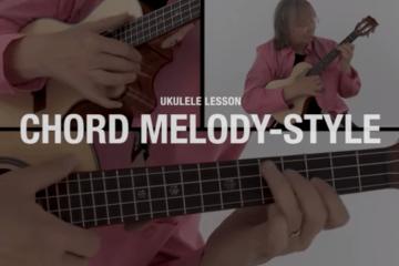 ukulele chord melody lesson