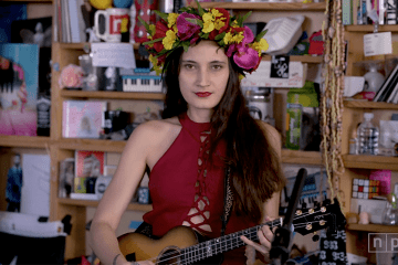 ukulele player and songwriter taimane