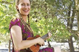 ukulele player Heidi Swedberg