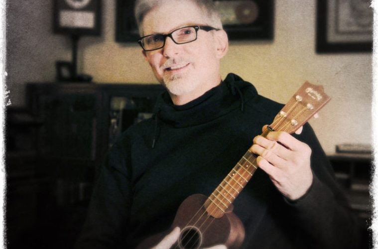 Greg Rule, tech obsessed geek learning to unplug and play ukulele