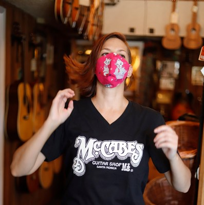 Koko Peterson of mccabe's ukulele club