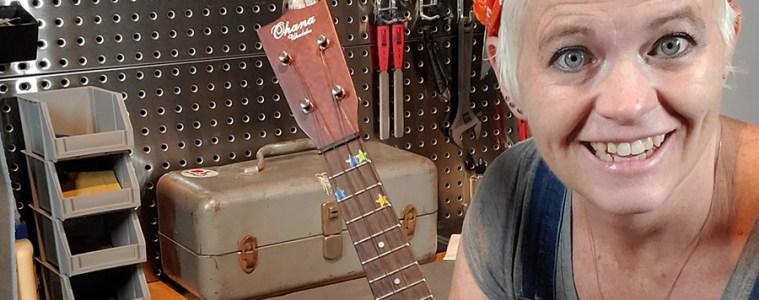 ukulele setup with mim