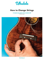 ukulele how to change strings