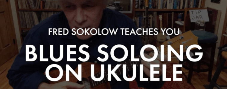 Learn to play the blues on ukulele