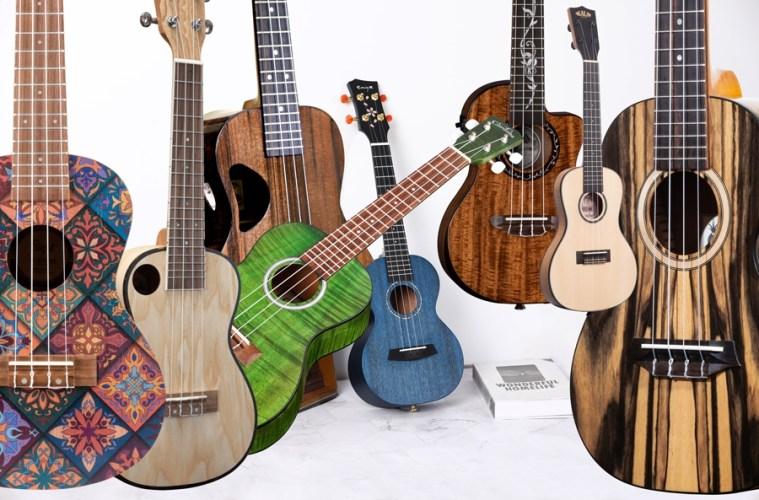 8 new ukuleles for 2021