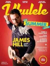 ukulele magazine cover issue 13 james hill